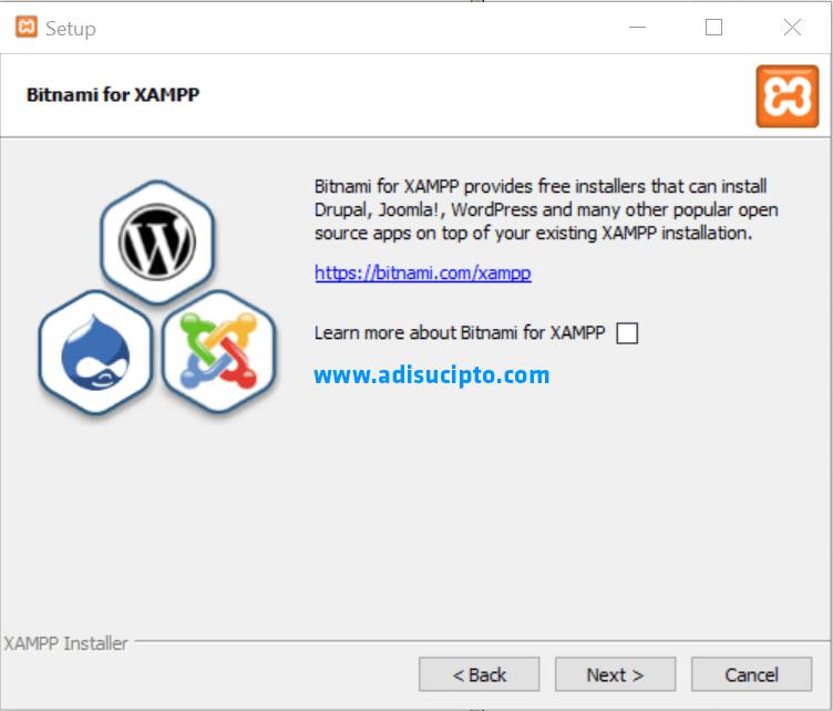 Cara menginstal XAMPP 7.1.1 - Gambar 6