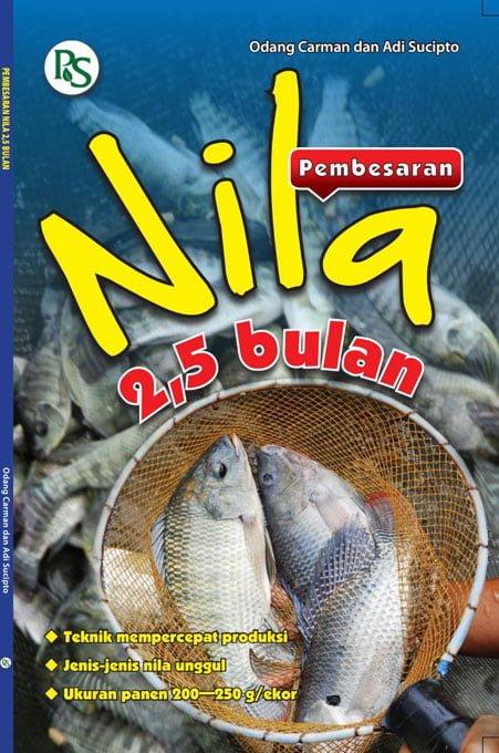 Buku pebesaran ikan nila 2,5 bulan | Adi Sucipto